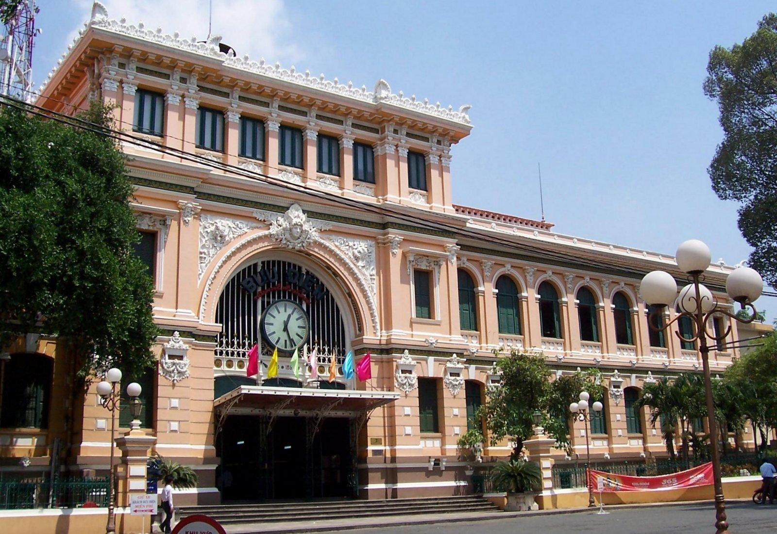 Hauptpost Saigon - Vietnam