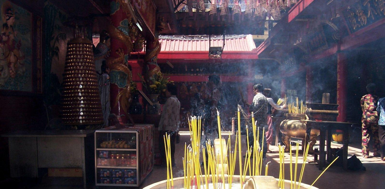 Phuoc-An-Hoi-Quan-Tempel in Cholon - Vietnam