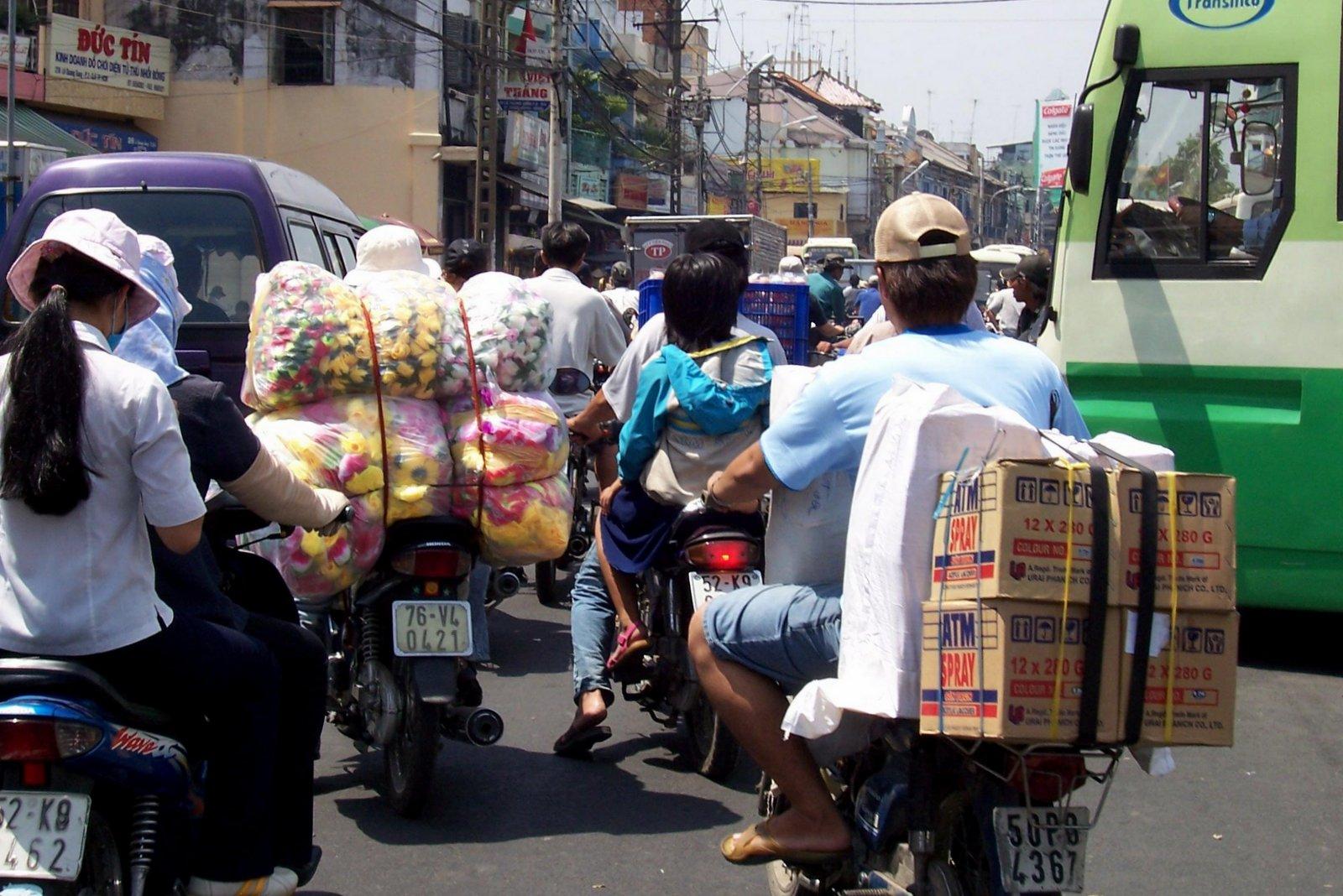 in Cholon - Vietnam