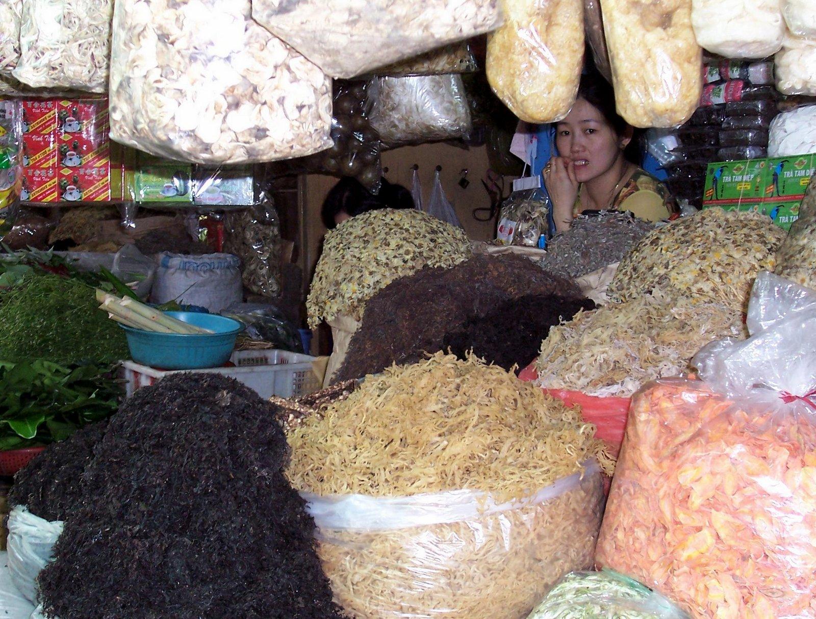 Binh Tay Markt in Cholon - Vietnam