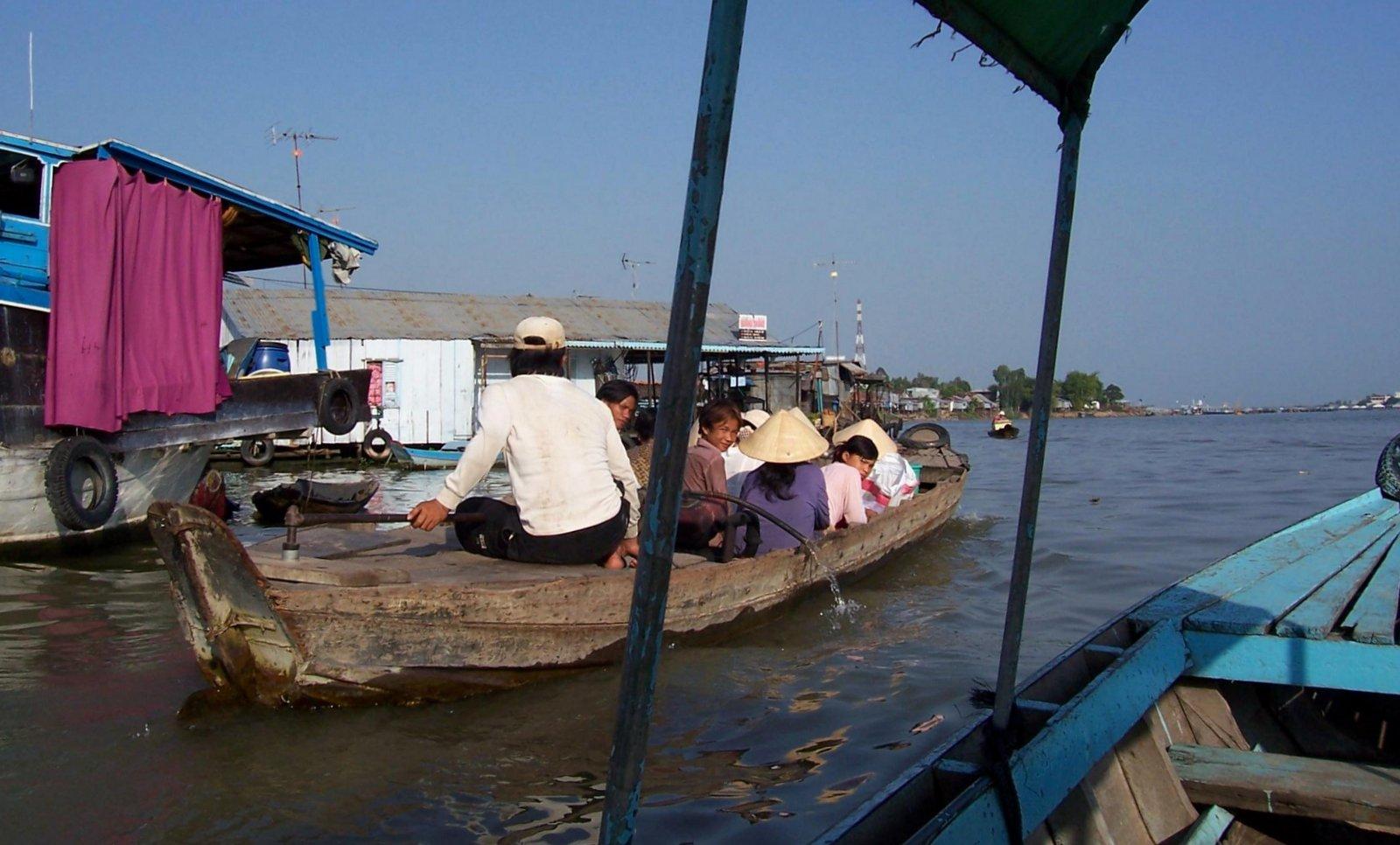 Im Mekong-Delta - Vietnam