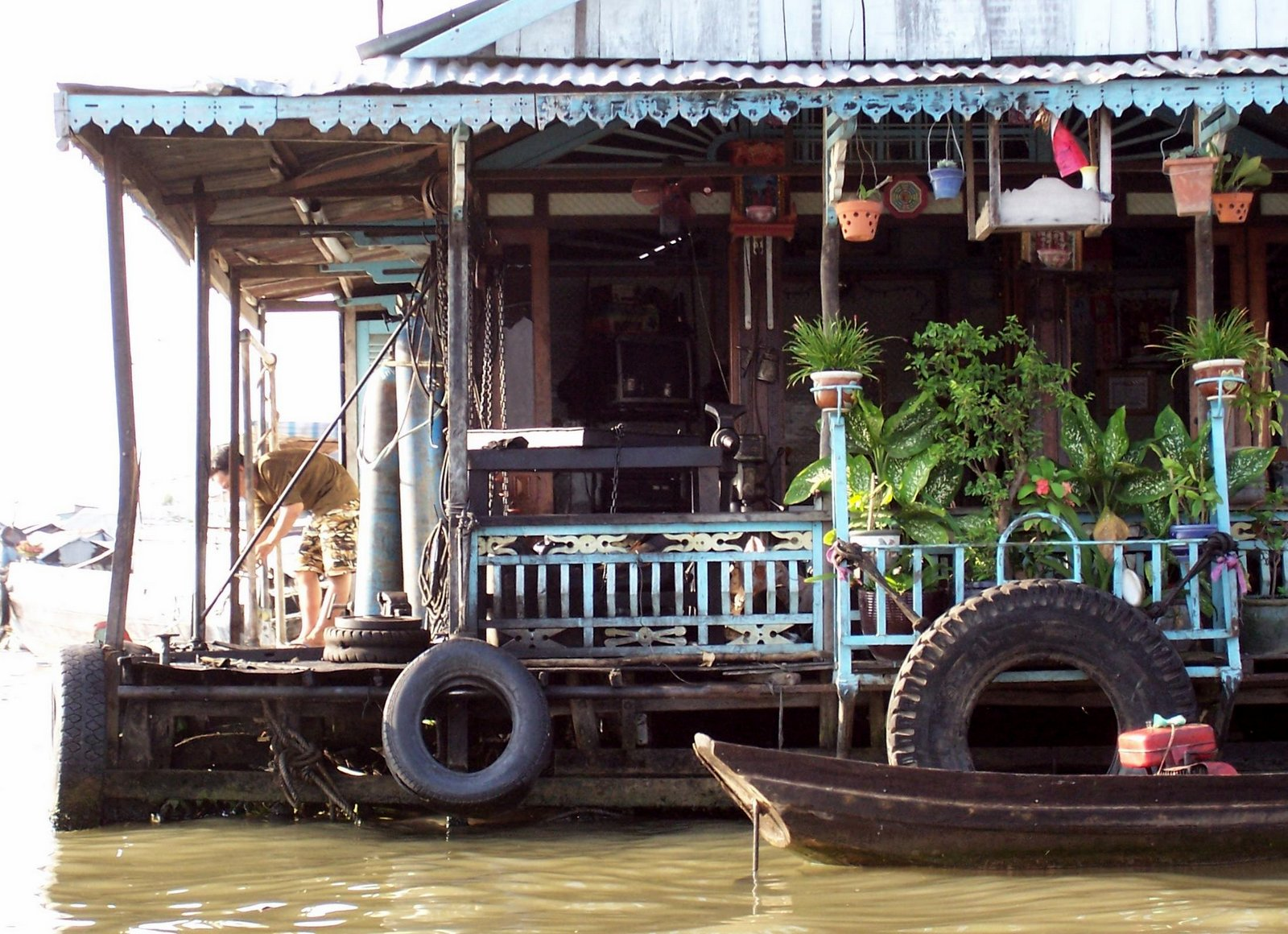 Hausboot im Mekong-Delta - Vietnam