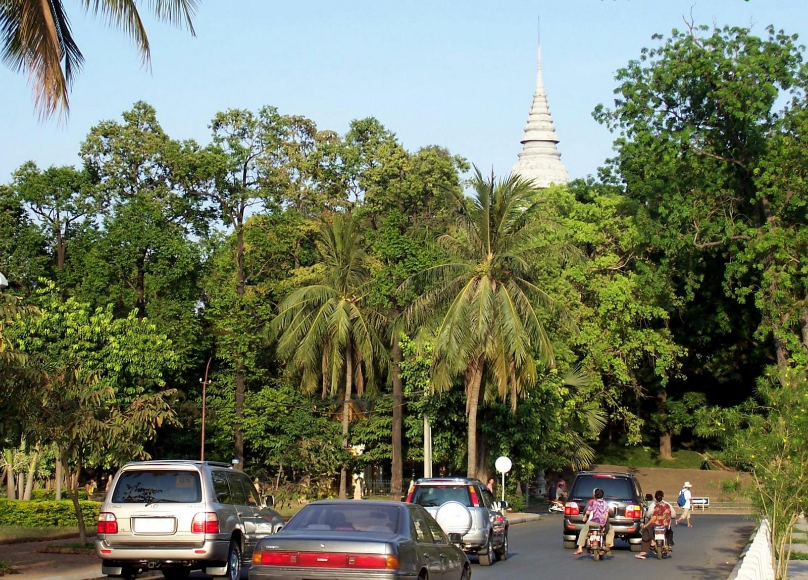 Wat Phnom - Phnom Penh Kambodscha