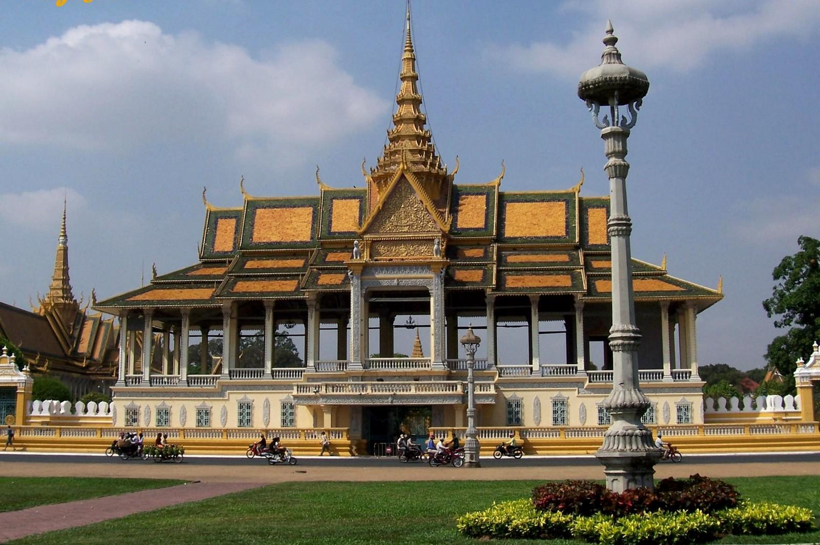 Königspalast - Phnom Penh Kambodscha