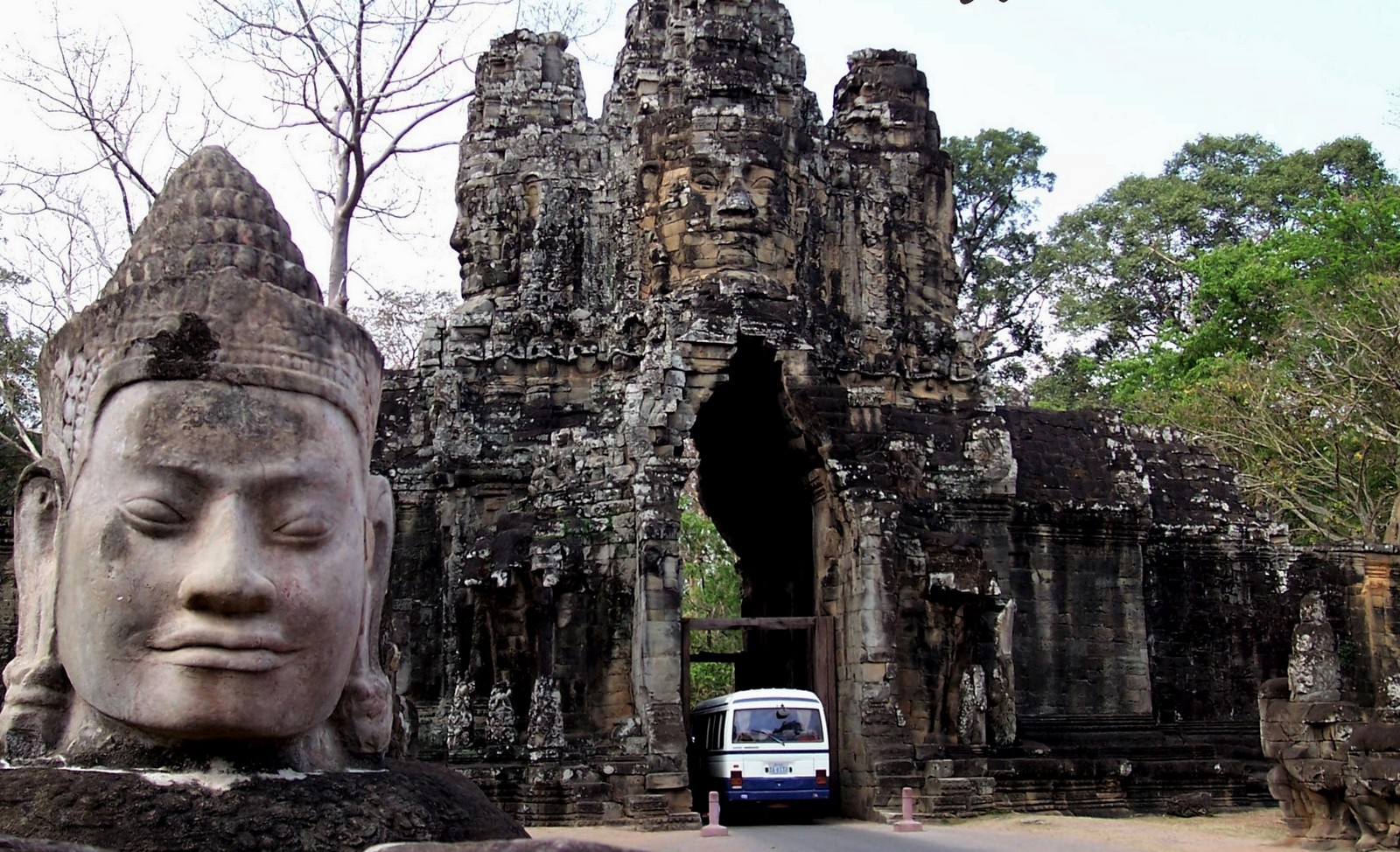 Angkor Thom - Kambodscha - Südtor