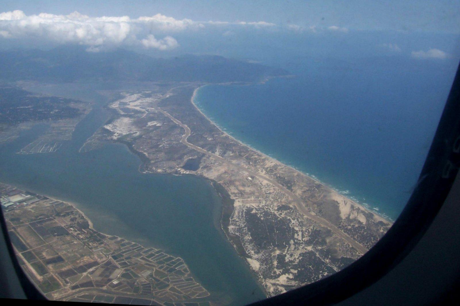 Anflug auf Nha Trang