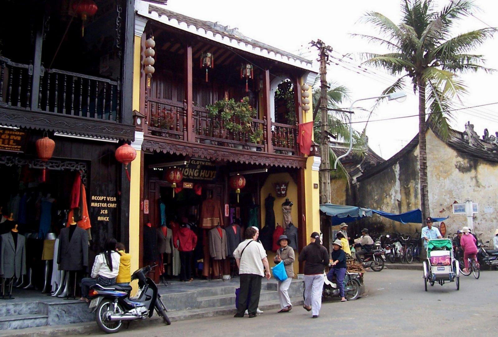 Textilmarkt in Hoi An