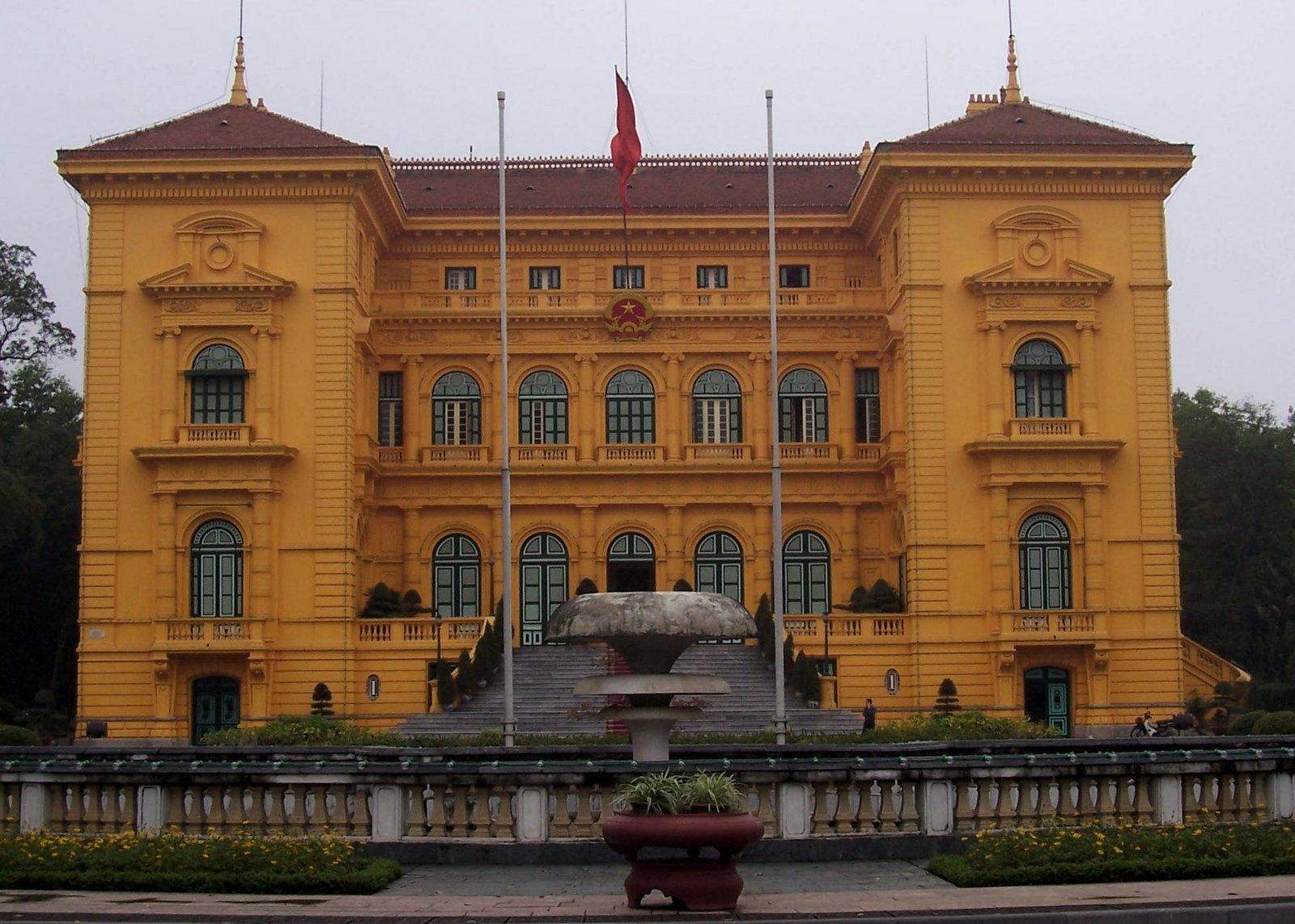 Präsidentenpalast in Hanoi