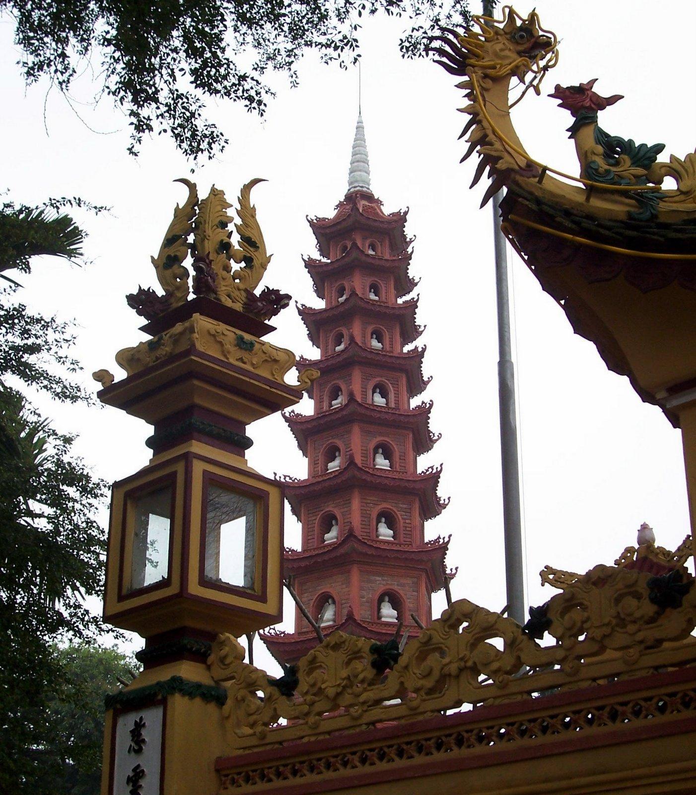Tran Quoc Pagode - Hanoi