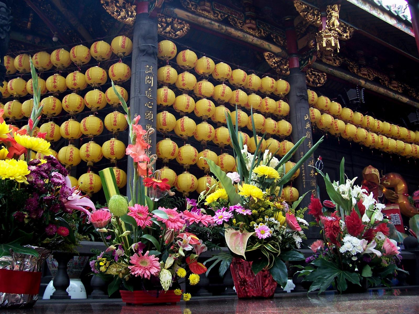 Longshan Tempel in Taipeh
