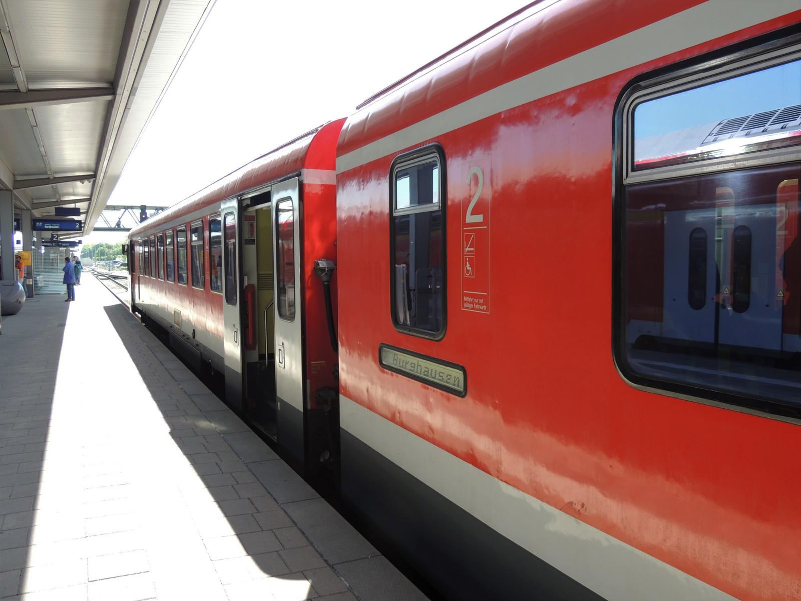 Ostbayernbahn Mühldorf - Burghausen