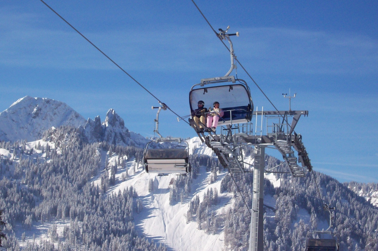 Skigebiet Spitzingsee - Suttenbahn mit Wallberg