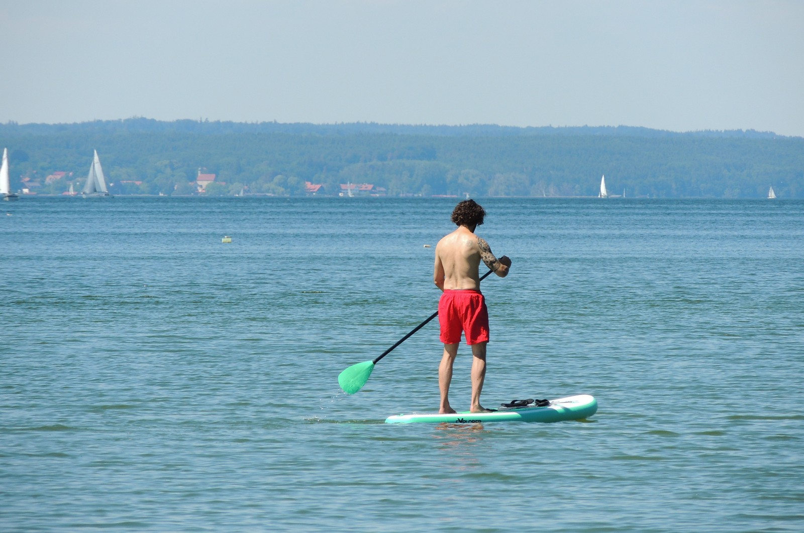 Ammersee - Stand-up Paddling