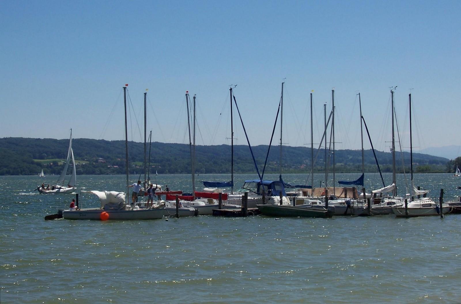 Bootsverleih Ernst in St. Alban am Ammersee