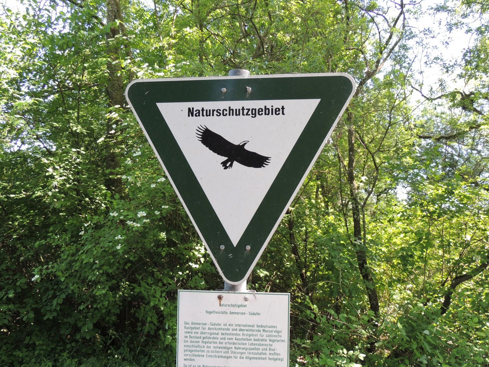 Naturschutzgebiet Vogelfreistätte Ammersee-Südufer