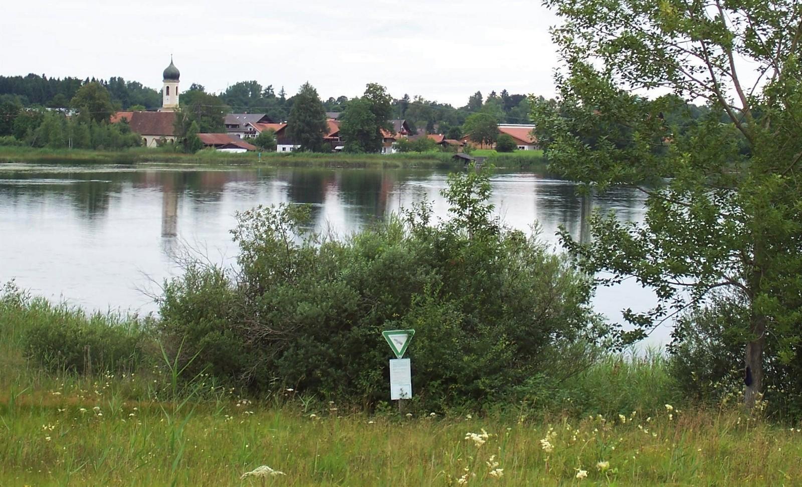 Das Blaue Land - Froschhausen und Froschhauser See