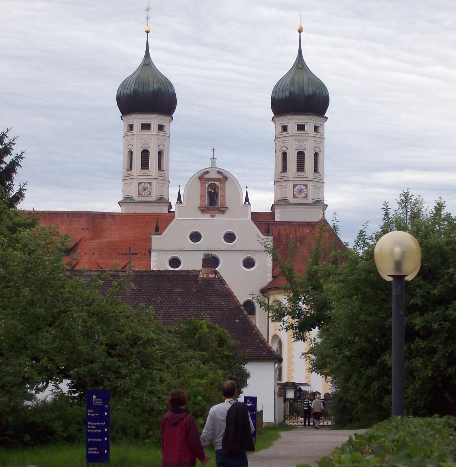 Das Blaue Land - Kloster Benediktbeuern