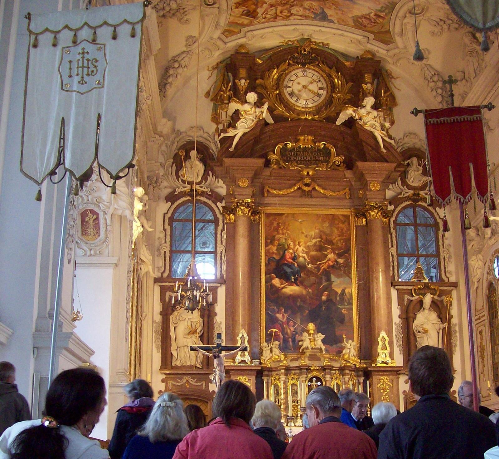Das Blaue Land - Klosterkirche Benediktbeuern