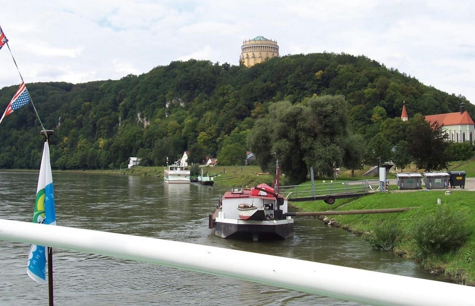 Donaudurchbruch - Schiffsanlegestelle Kelheim