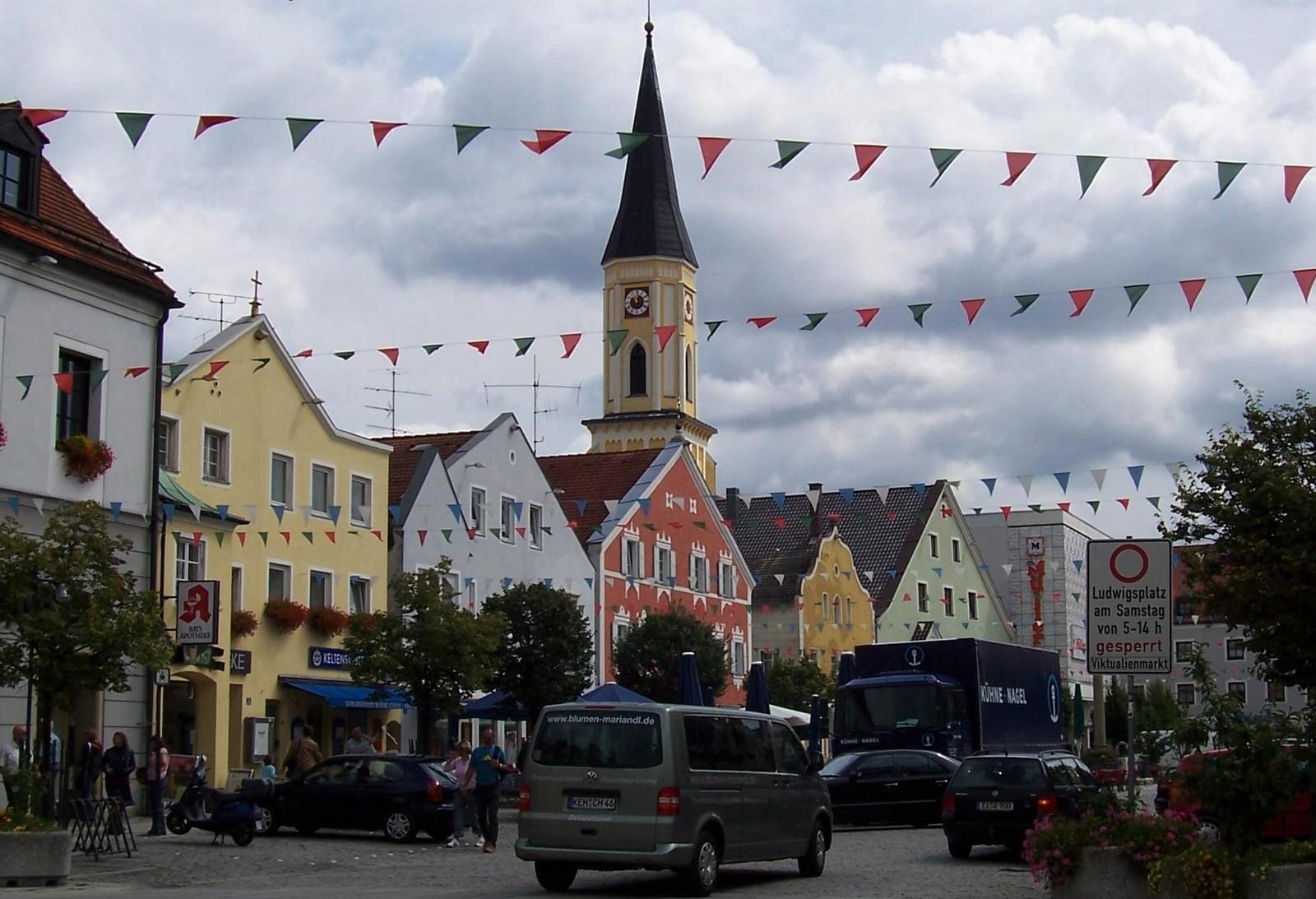 Kelheim - Ludwigsplatz