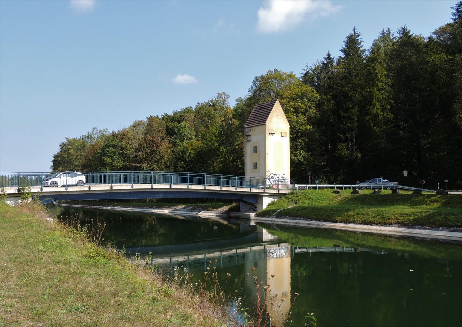Grünwald-Rundkurs - Brücke über den Isarkanal
