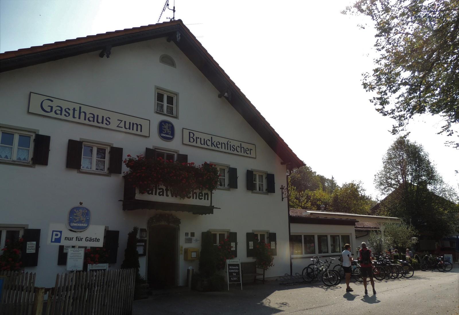 Gasthaus zum Brückenfischer - Grünwald-Rundkurs