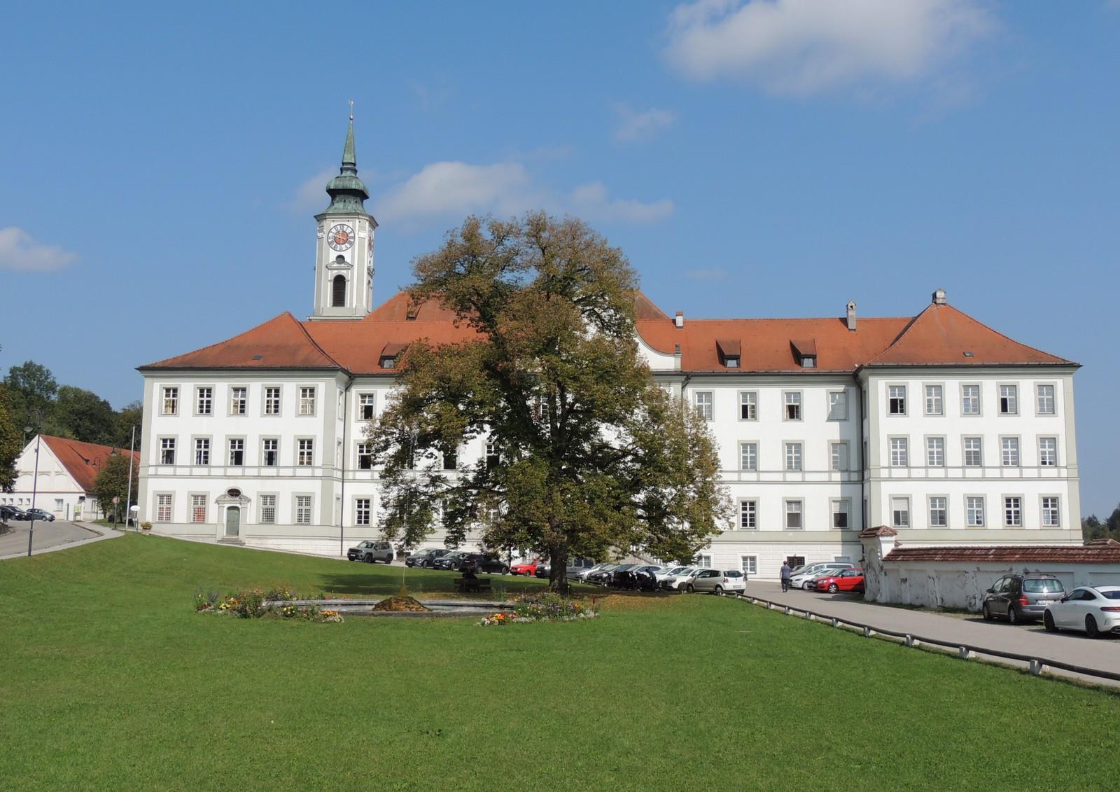 Kloster Schäftlarn am Grünwald-Rundkurs