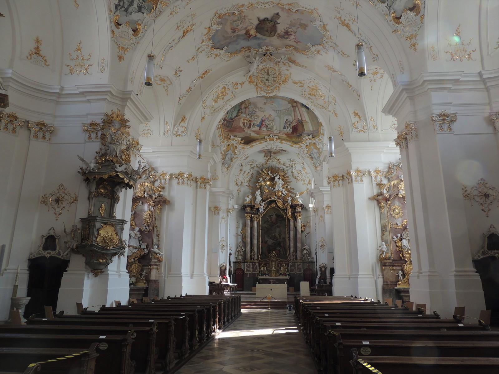 Klosterkirche Schäftlarn - Hochaltar