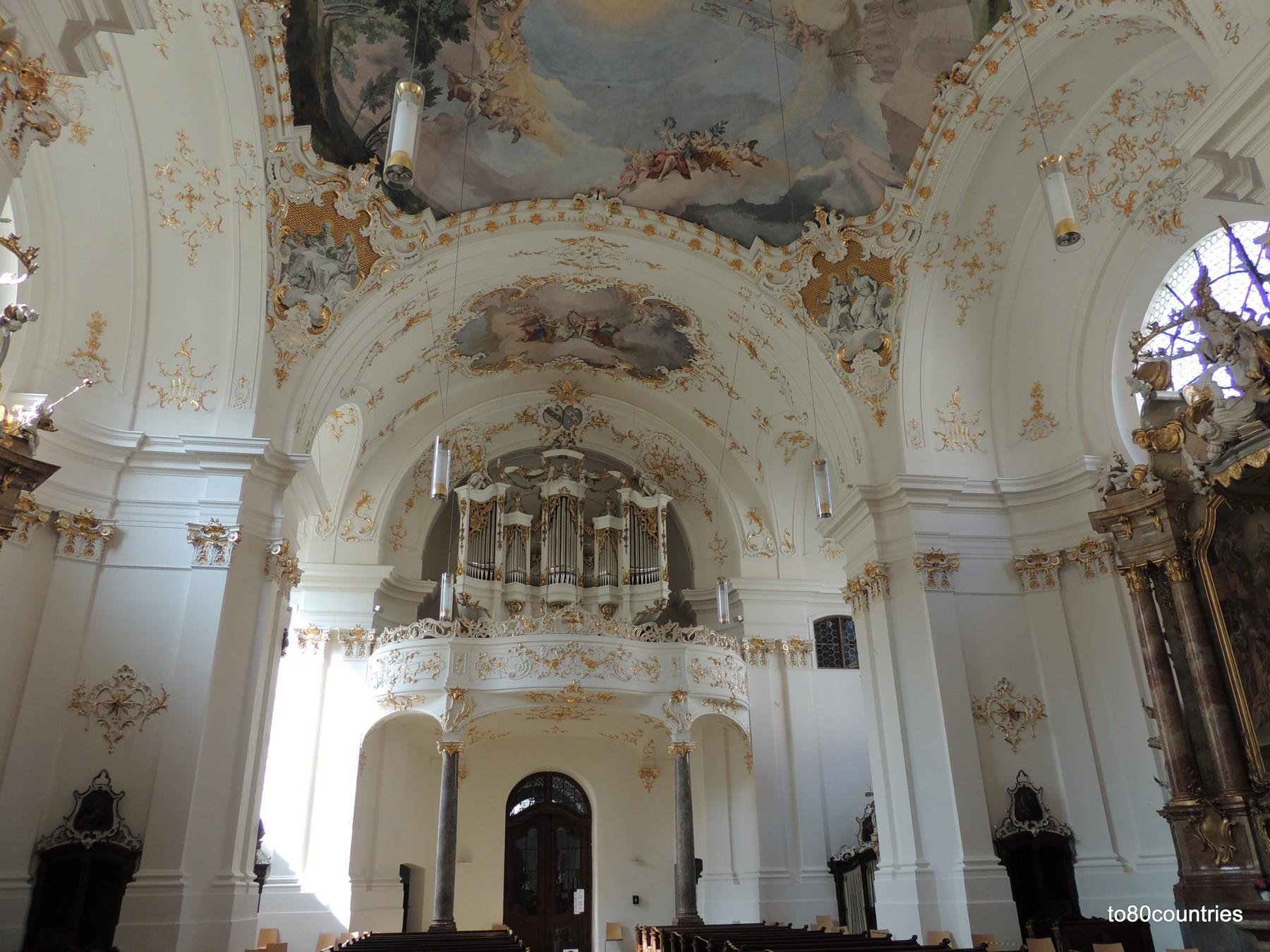 Klosterkirche Schäftlarn - Orgel