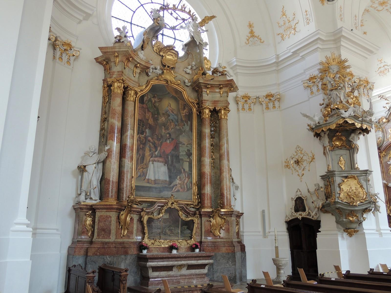 Klosterkirche Schäftlarn - Rosenkranzaltar