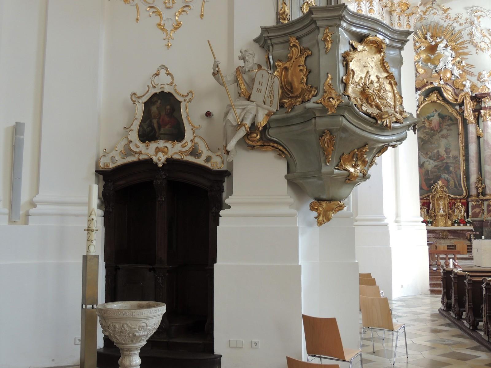 Klosterkirche Schäftlarn - Kanzel