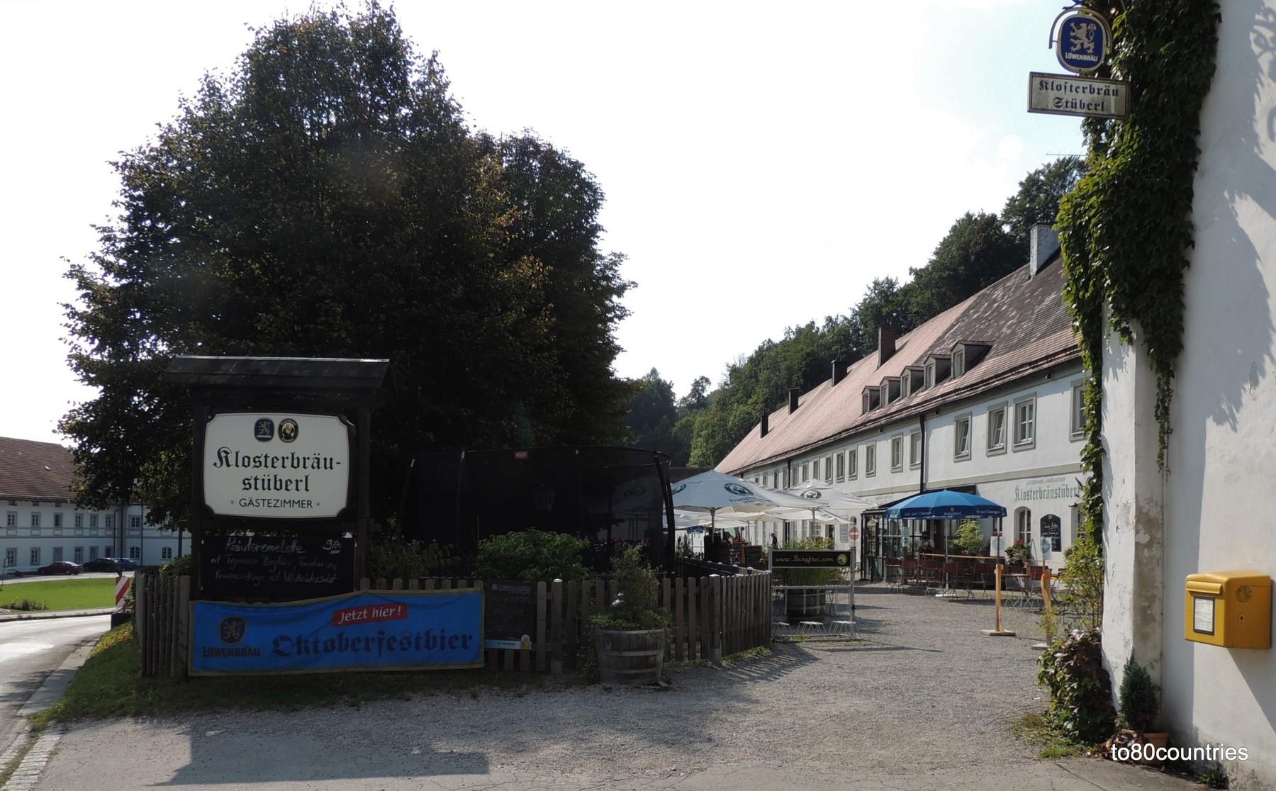 Klosterbräustüberl Schäftlarn am Grünwald-Rundkurs