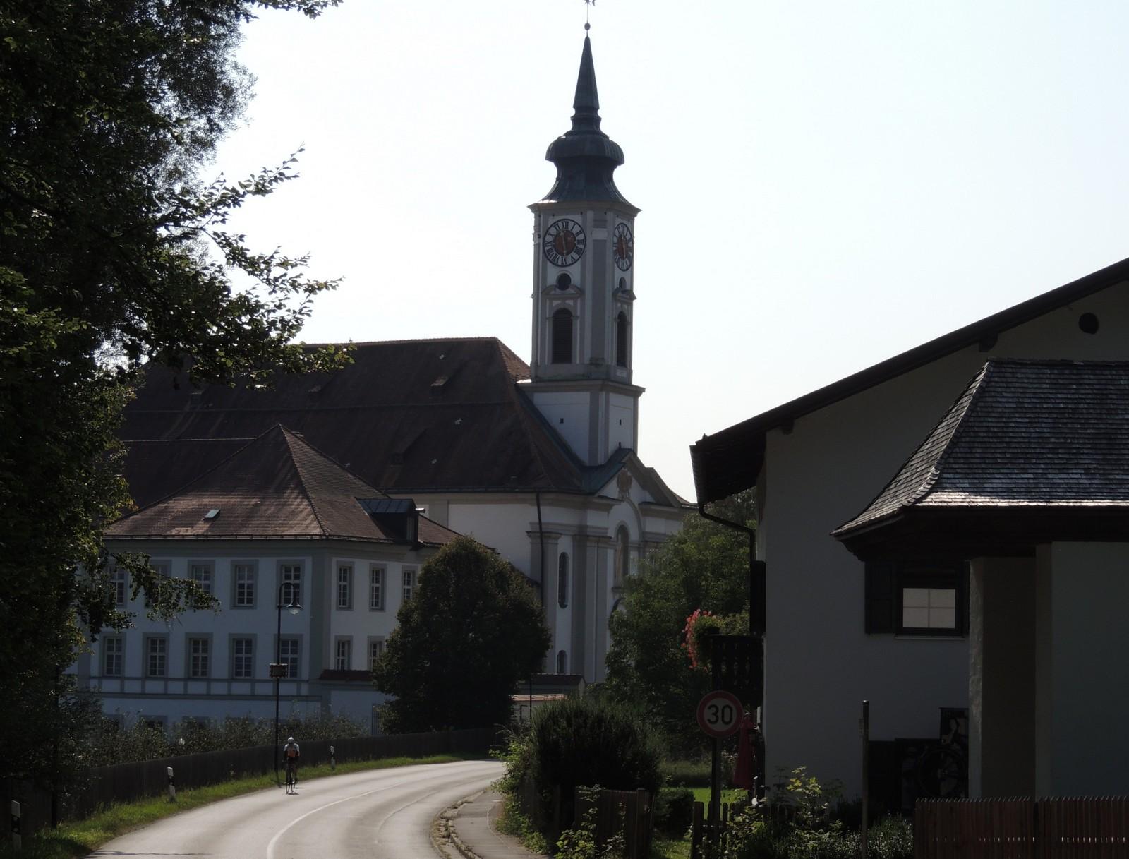 Klosterkirche Schäftlarn am Grünwald-Rundkurs