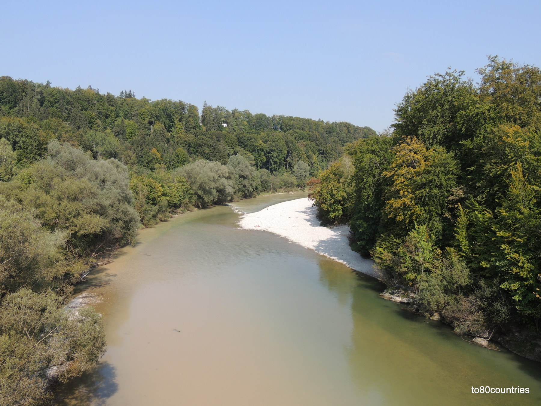 """<span style=""""font-family: tahoma, arial, helvetica, sans-serif; font-size: 12pt;"""">An der Isar bei Schäftlarn</span>"""
