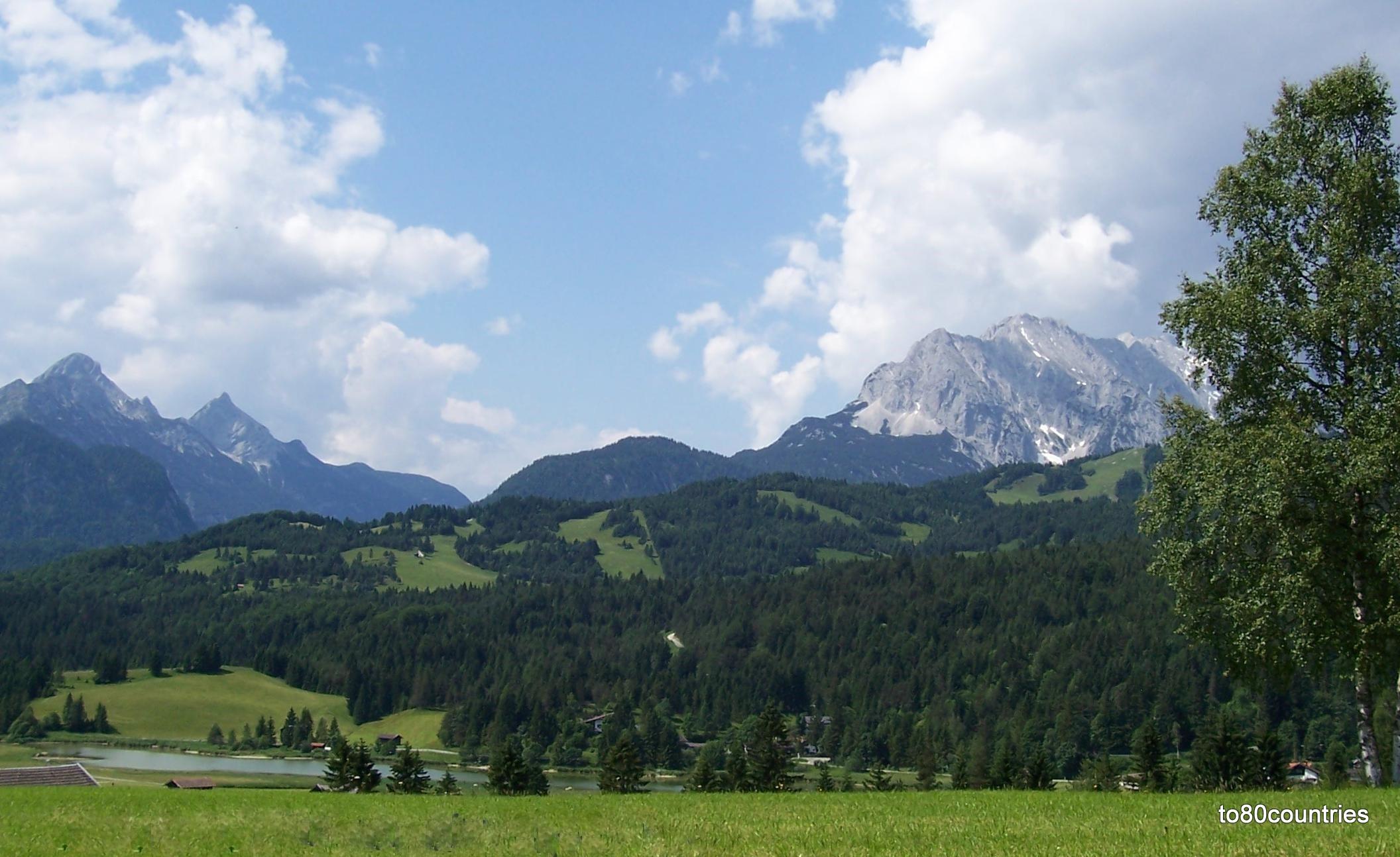 Schmalensee bei Mittenwald