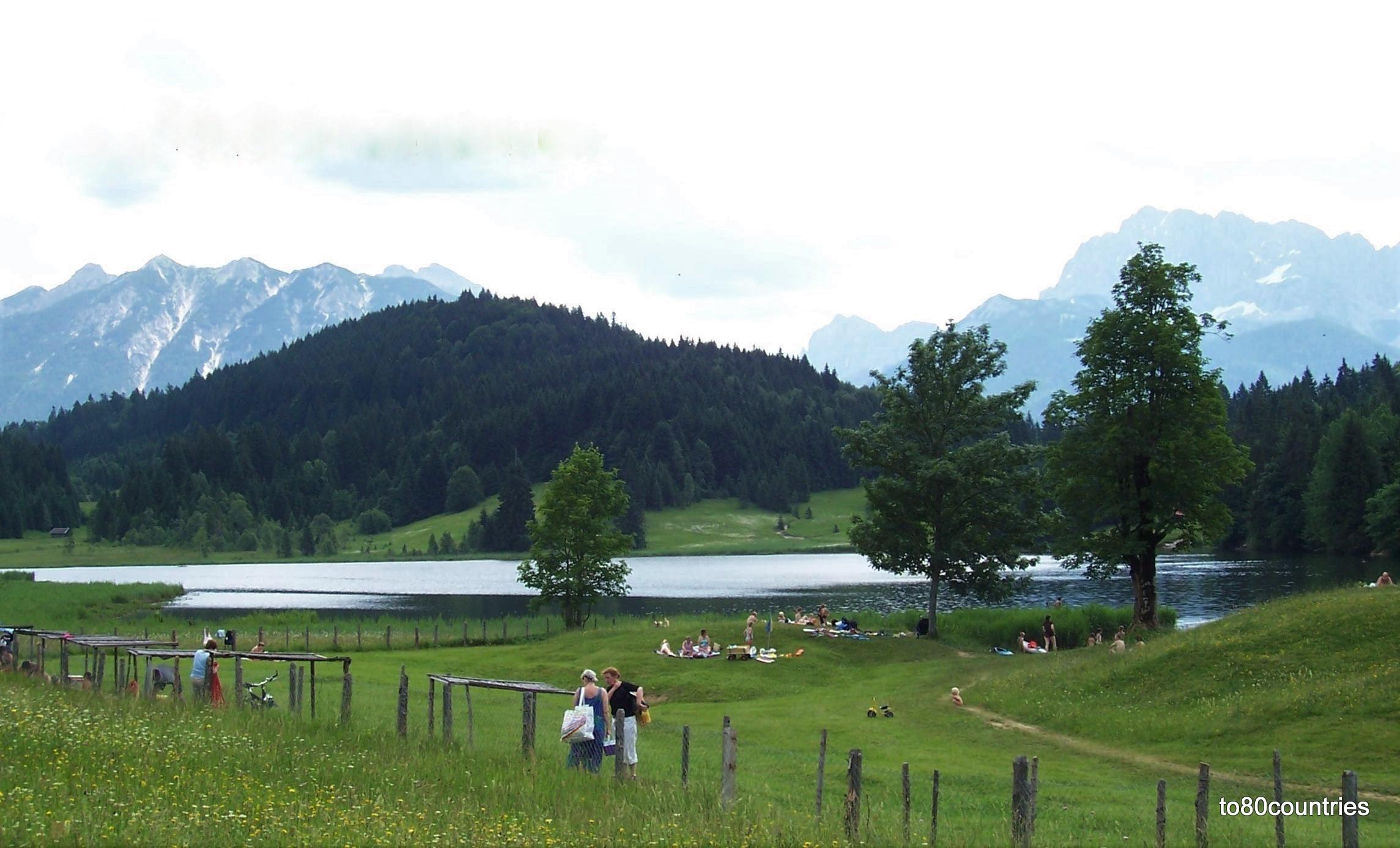 Geroldsee bei Mittenwald