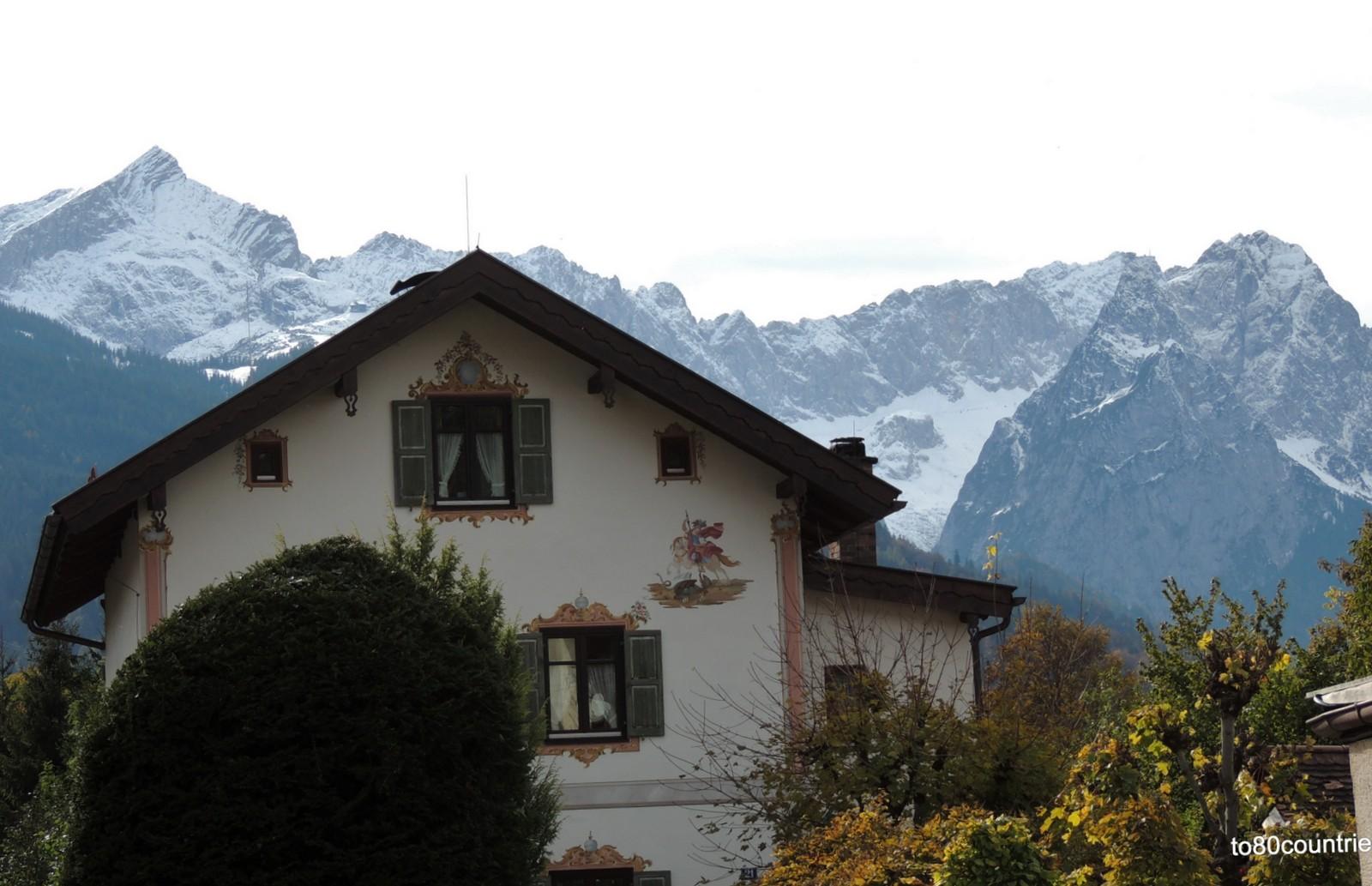 Alpspitze, Waxenstein und Zugspitze