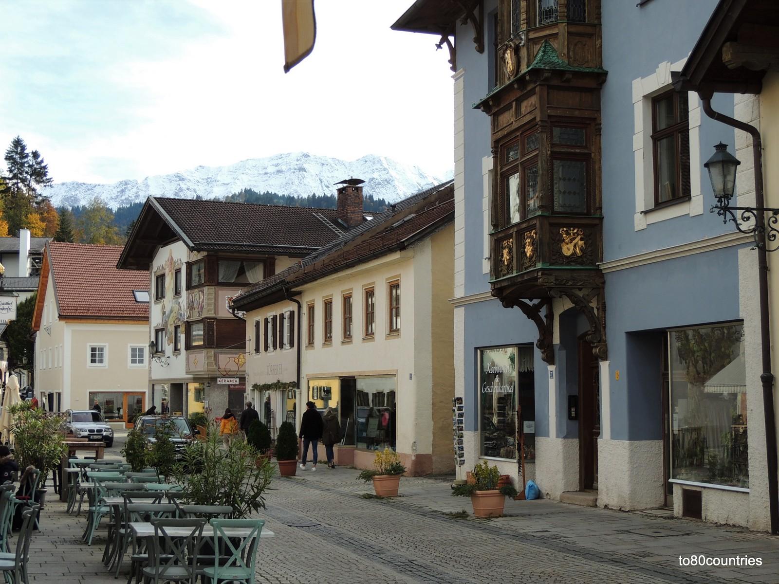 Partenkirchen - östliche Ludwigstraße