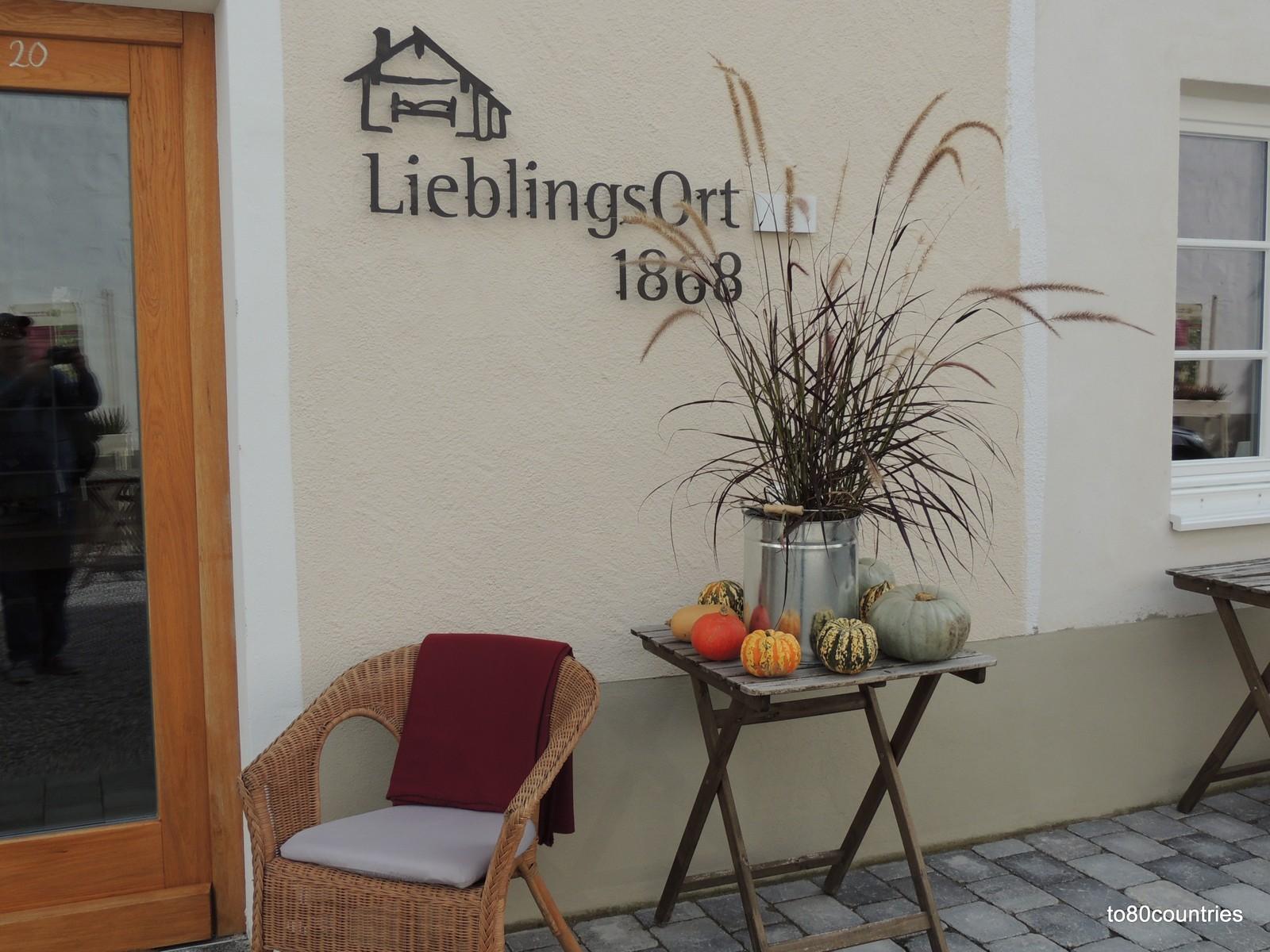 Lieblingsort 1868 in der Ludwigstraße von Partenkirchen