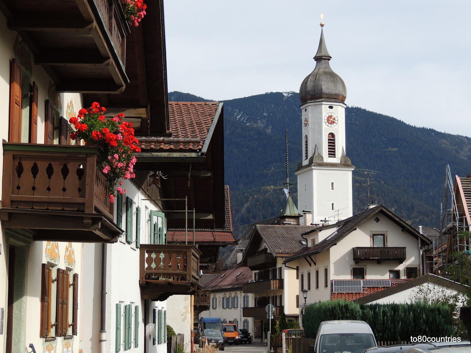 Garmisch - Pfarrkirche St.Martin