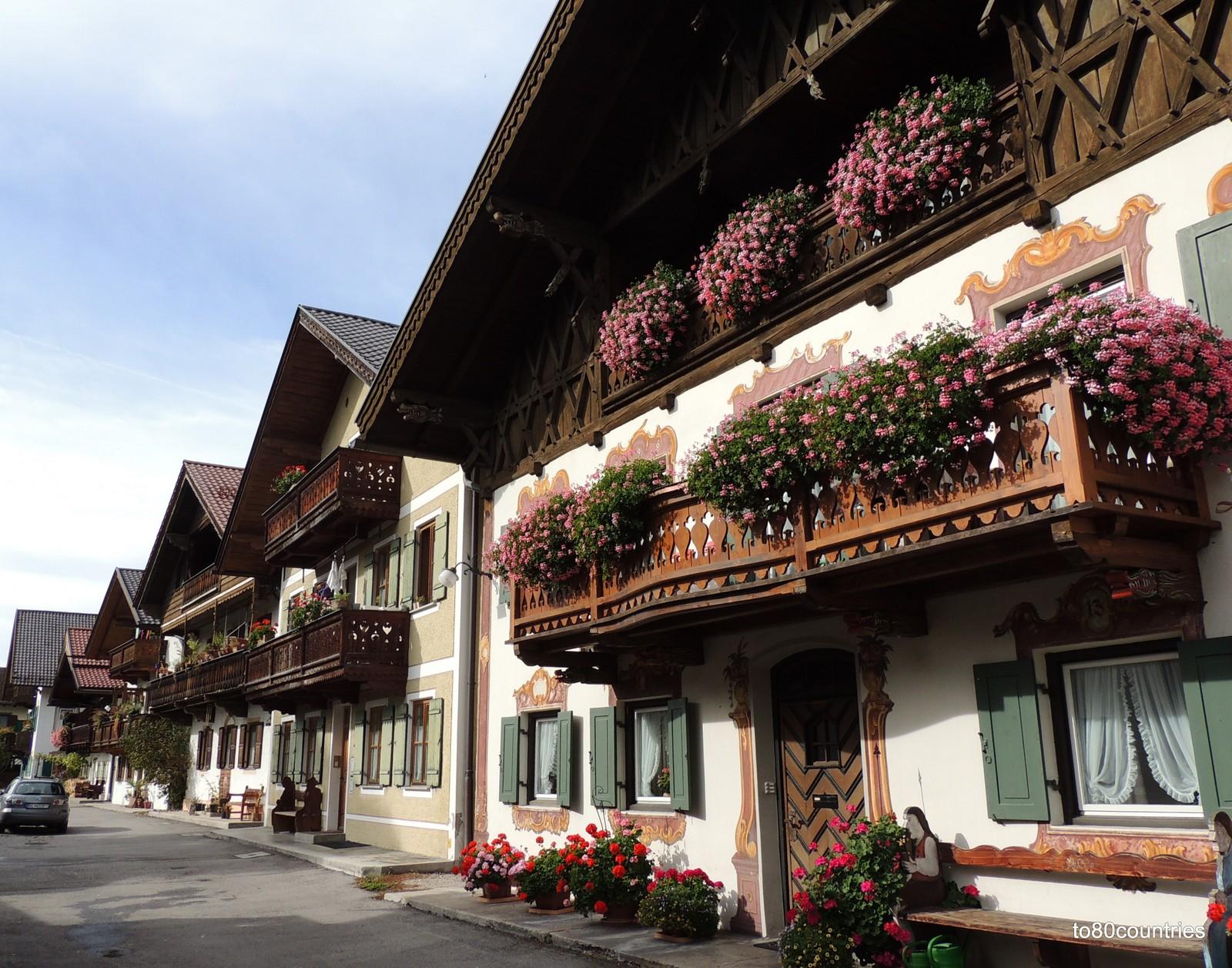 Garmisch - Bauernhäuser aus dem 18. Jahrhundert
