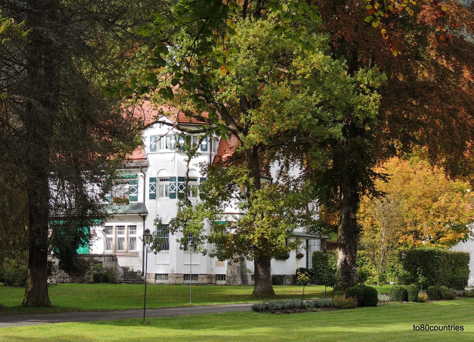 Garmisch - Villa von Richard Strauß