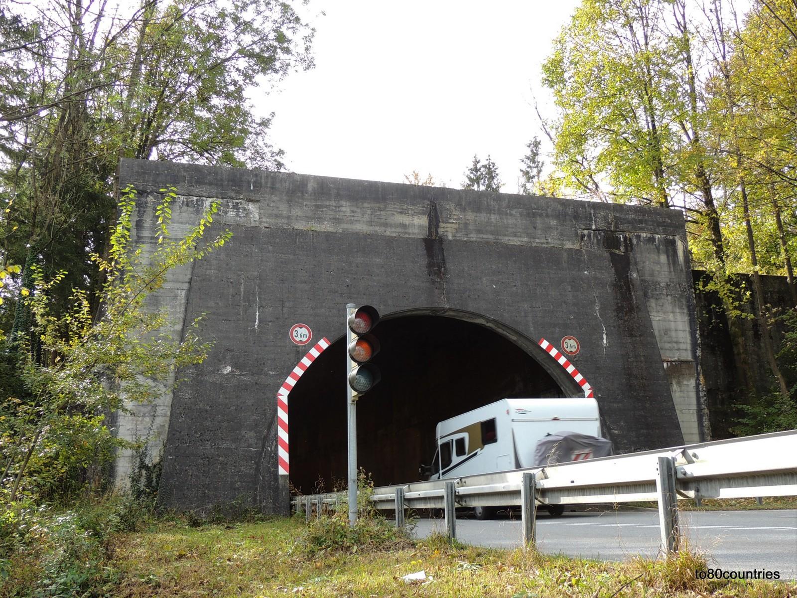 Olympiastraße - Tunnel bei Eschenlohe