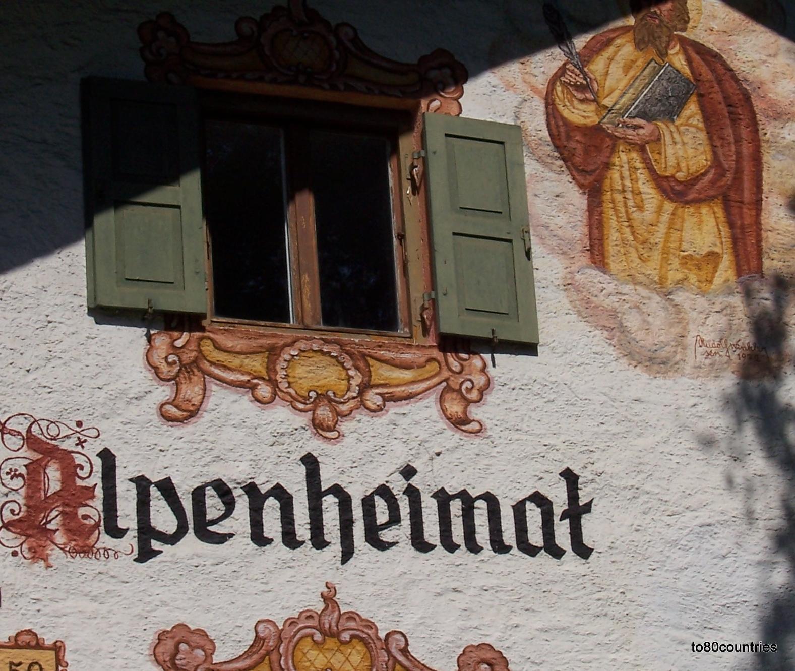 Haus Alpenheimat in Mittenwald