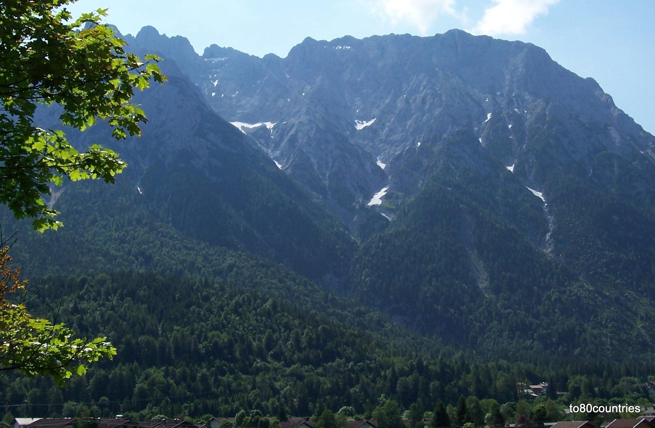 Westliche Karwendelspitze bei Mittenwald