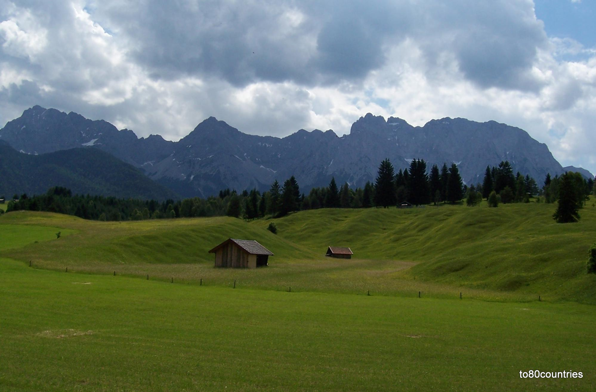 Buckelwiesen bei Mittenwald