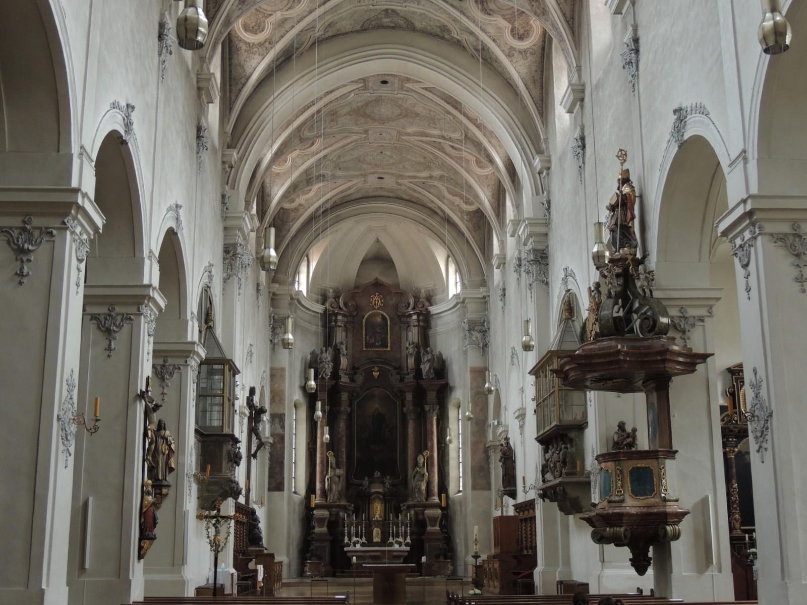 Regensburg Niedermünster innen