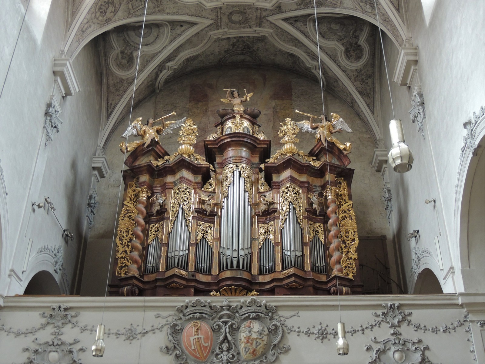 Regensburg - Orgel im Niedermünster