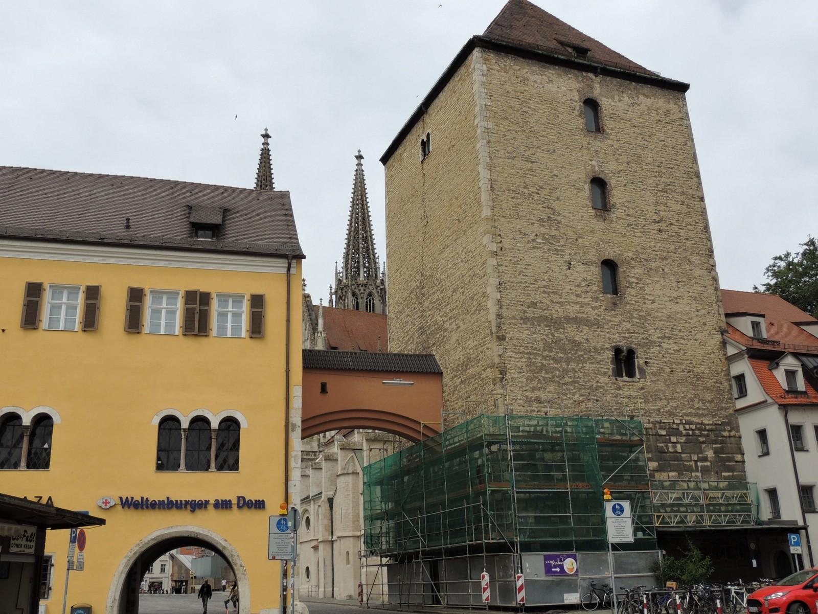 Regensburg - Römerturm