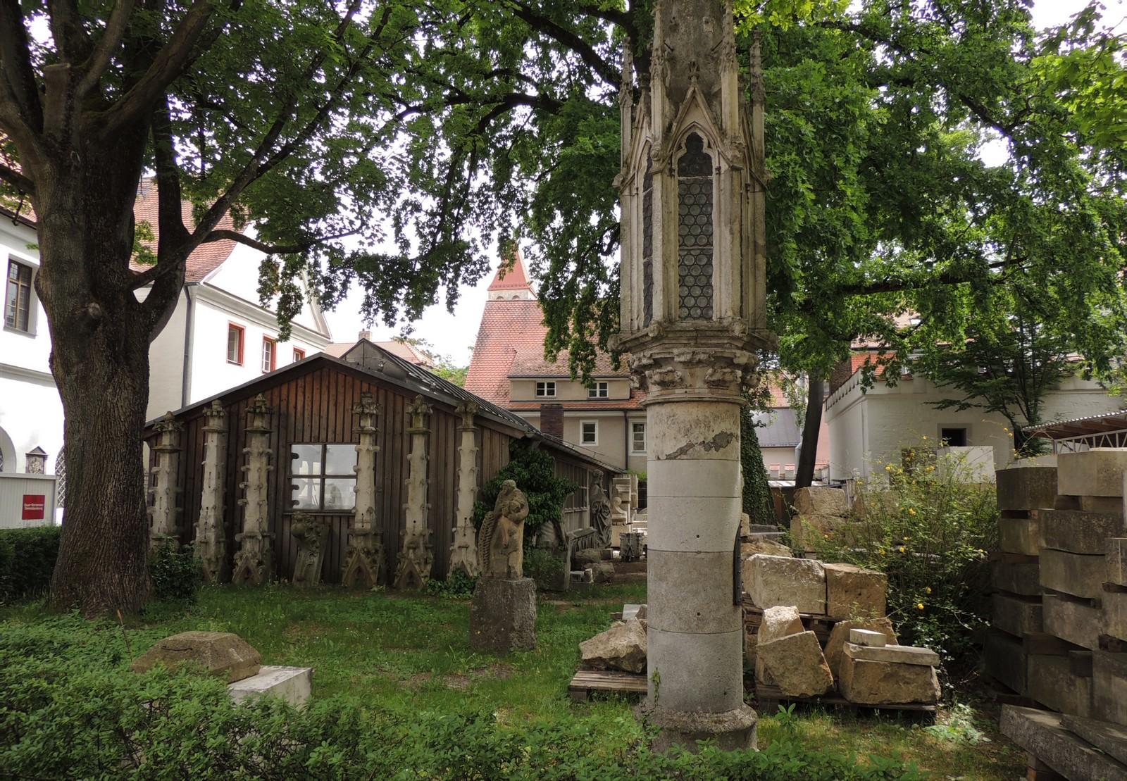 Regensburg - Dombauhütte